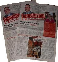 NPD-Zeitungen